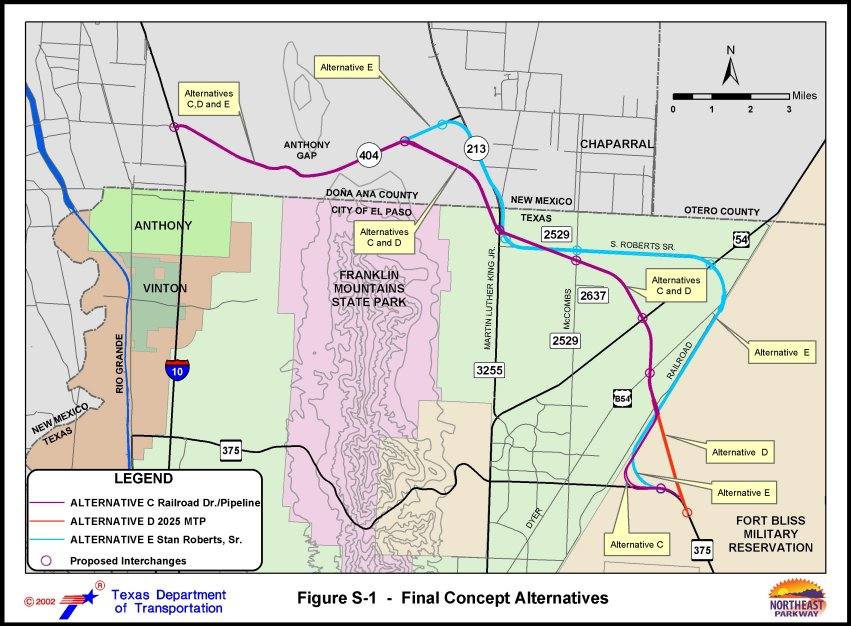 Interesting Articles Regarding LP 375 Expansion El Paso