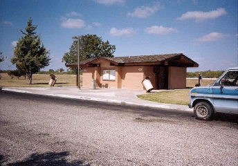 View of Concho County rest area