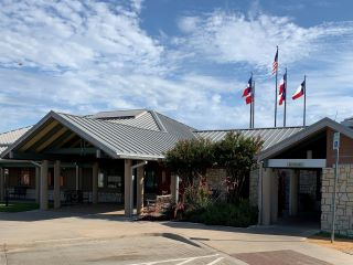 View of Texas Travel Information Center at Gainesville