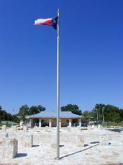 View of Gillespie County Safety Rest Area on US 290