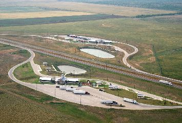 Er Aerial View Of The New Hardeman County Safety Rest Areas