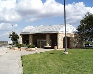 View of Mitchell County rest area