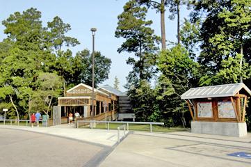 View of Texas Travel Information Center at Orange