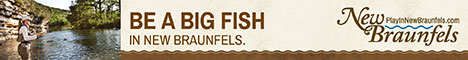 Be a big fish in New Braunfels