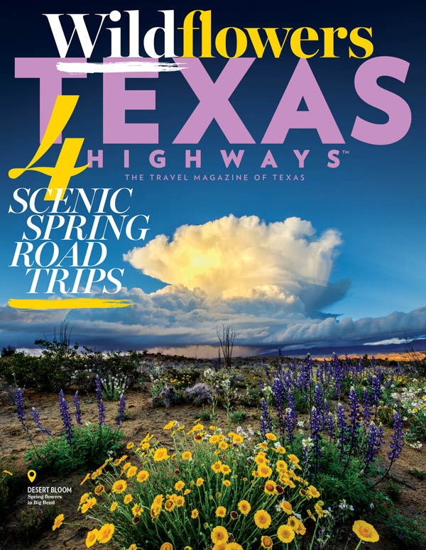 Wildflower Wanderlust: March 2018 Magazine Cover