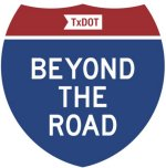 image of the beyond the road sign sticker