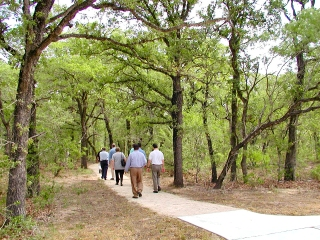 The new facilities feature nature trails with interpretive displays of native vegetation