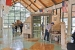 View of interior lobby featuring interpretive displays of local features