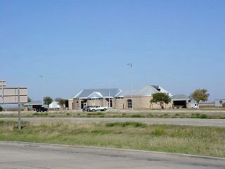 View of the renovated facility over IH-27