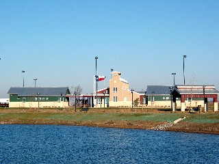 View of the new Hardeman County Safety Rest Area