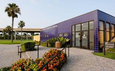 View of Texas Travel Information Center at Harlingen