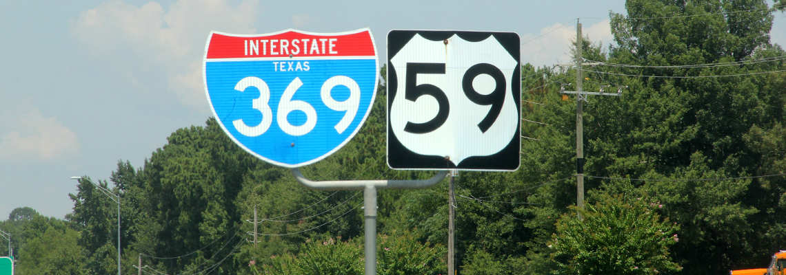 Map Of Texas Highway 77.I 69 Driven By Texans